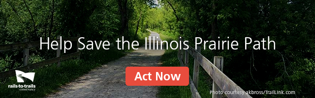 Help Save the Illinois Prairie Path | RSVP Now