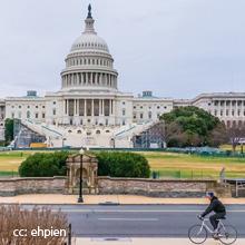 U.S. Capitol and Bike (cc: ehpien)
