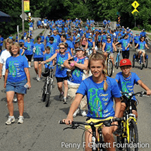 Creeper Trail Ride to End Cancer | Penny F. Garrett Foundation