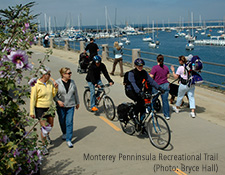 Monterey Penninsula Recreational Trail (Photo: Bryce Hall)