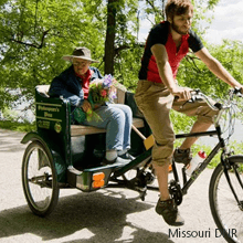 Pat Jones in pedibike | Missouri DNR